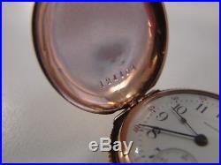 0/6 Jewel Series Fine Waltham Ladies Watch Solid 14K Gold Case 0.35ozt