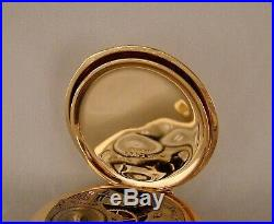 135 YEARS OLD ELGIN 14k GOLD FILLED HUNTER CASE 16s GREAT LOOKING POCKET WATCH
