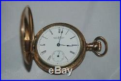 1894 Illinois Watch co. Gold Filled Hunter case Pocket watch