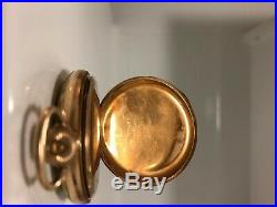 1906 Illinois Pocket Watch, Grade 184, 13s Gold Filled Crescent Case C. W. C. CO