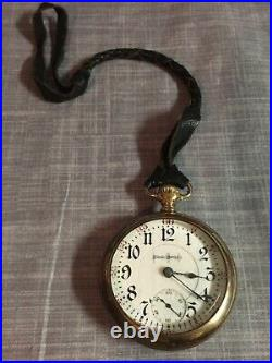 1907 Illinois Watch Co. Bunn Special 18s 21J RR Model 6 BWC Co. Gold Filled Case