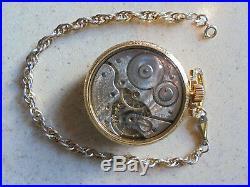1910 Hamilton 992 16S 21J Montgomery Dial Railroad Pocket Watch Salesman Case