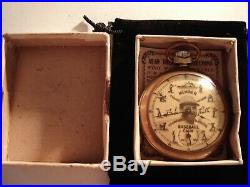 1928 16S Ingraham Baseball Babe Ruth Theme Dial & Case Runs Well
