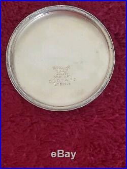 1930s Hamilton Railroad 992 pocket watch 14Karat Gold filled case size 16