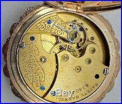 American Waltham Watch Co. GF Box Hinge Hunter Case Pocket Watch