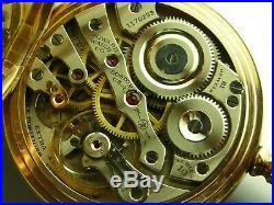Antique 16s E. Howard 21 jewel Rail Road series 10 pocket watch Gold filled case