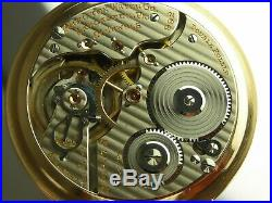 Antique 16s Hamilton 992 Rail Road pocket watch. 1924. Gold filled Wadsworth case