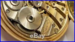 Antique 1913 E. Howard Boston 17 Jewel Pocket Watch Keystone Gold Filled Case