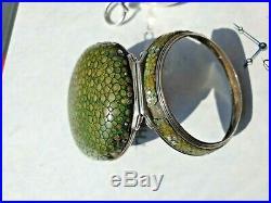 Antique English Silver Peir Case