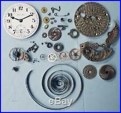Antique Hamilton 16s 21j 990 Railroad Pocket Watch In Cross Bar Model Case