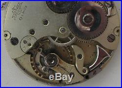 Astra Repeater Pocket watch silver hunter case 54 mm. In diameter enamel dial