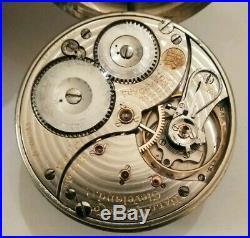 Ball Official standard 16S. 21 jewels adj. (1905) Railroad watch nickel case