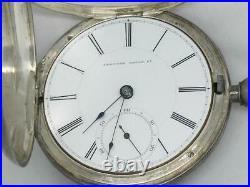 C. 1860 Appleton, Tracy & Co Keywind Pocket Watch, Original At & Co Case, Runs