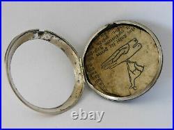 Cassa orologio da tasca argento Verge/fusee Outer Pair silver Case pocket watch5