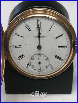 E. HOWARD SERIES VII POCKET WATCH With14K GOLD CASE-$1580 IN GOLD CONTENT @ $1500