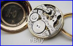 E. Howard 16s 21j Series 11 Railroad Chronometer Circa 1915 Original Case