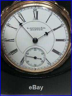E. Howard Series VI Pocket Watch With 14k Gold Case-only 5,500 Made