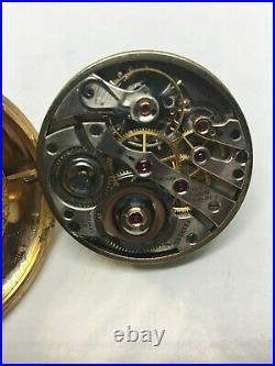 E. Howard Watch Co. 16sz 23j Series 0 Howard Case, Montgomery Dial RR Runs NICE