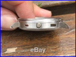 Eberhard Chronograph Extra Fort Case For Parts Repair Vintage Watch