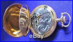 Elgin 15 Jewel Hunting Case Pocket Watch 1906