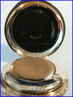 Elgin (1903) 6S. Great Fancy dial 15 jewels nice 14K. Gold filled hunter case