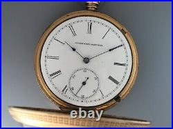 Elgin Convertible Early 1881. Original Gold Filled Case