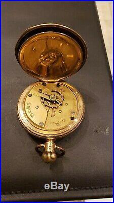 Elgin Full Hunter Case Pocket Watch