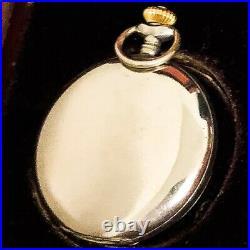 Girard Perregaux Pocket Watch. Nickel chromium hunter case 50 mm in diameter