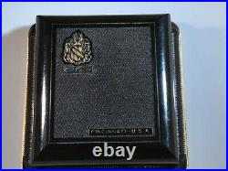 Gruen Verithin Solid 14k Gruen Case with Original Hard Plastic Box
