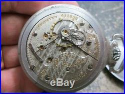 HAMILTON 21J RAILROAD FANCY CASE RUNNING 940 MOVEMENT Pocket Watch 54mm