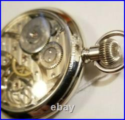 Hamilton 16S. 19 jewel adj rare grade 952 porcelain dial Hamilton display case
