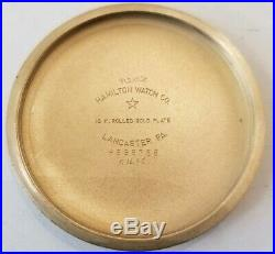 Hamilton 16S. Railway Special 21 jewel adjusted grade 992B Hamilton case (1949)