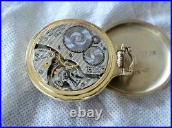 Hamilton 21 jewel 992B 10K Gold Filled case Railroad Watch 16s Serviced