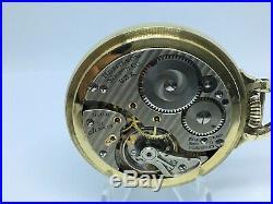 Hamilton 992B 21 jewel 16 size BOC gf case RR grade circa 1950 running dual TZ