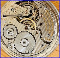 Hamilton 992 21 Jewel Salesman Display Case Railroad Grade