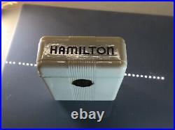 Hamilton 992 B Mdl A Case with Perfect Cigarette Box