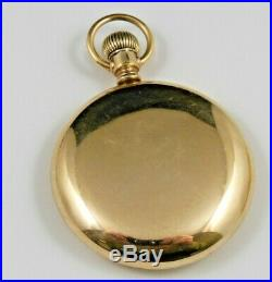 Hamilton 992 Pocket Watch, Swing Out 20 Yr Case, 21j 16s Nice Condition, Running