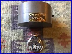 Hamilton GCT 1944 WWII Military 24 Hour 4992B 22j 16s Pocket Watch with Case