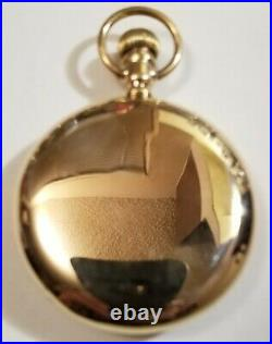 Howard Scarce 16S 23 jewel adj Series 0 Ruby Banking Pins 14K. G. F. Howard case