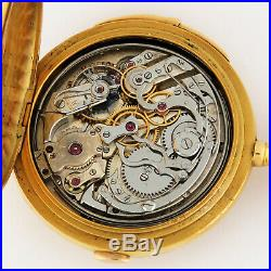 Humbert Ramuz 18K Gold Minute Repeater Chronograph Griffon High Relief Case 53mm