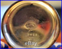 Hunter Coin Silver Keywind Pocket Watch Case 18 Size