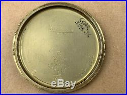 ILLINOIS 60 Hour 23 Jewel Bunn Special 14K gold Filled case Pocket Watch RARE