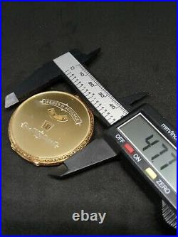 IWC Pall Weber Schenck Digital Pocket Watch 18ct gold Case
