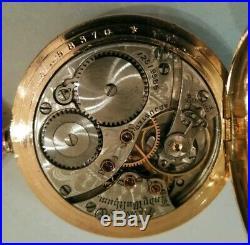 Lady Waltham 0S. 16Jewels adjusted mint dial (1903) 14K. Gold filled hunter case