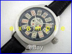 New 48 mm Stainless Steel Case for Conversion Antique Pocket Watch Movement IWC