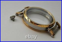 New 52mm Stainless Steel Case for Conversion Pocket Watch Movement 13,8 mm thick