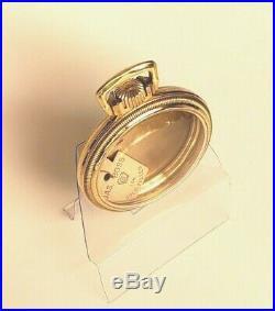 POCKET WATCH CASE KEYSTONE J BOSS 10k NEW OLD STOCK GOLD FILLED NOT SCRAP! W1