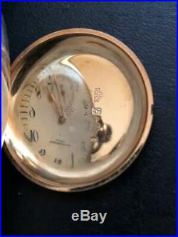 Patek Philippe 14k Hunter Case 30 MM Pocket Watch With Original Numbered Box