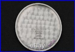 Patek Philippe 1938 pocket watch orig. St. STEEL case cal 17-250 ref 651 staybrite