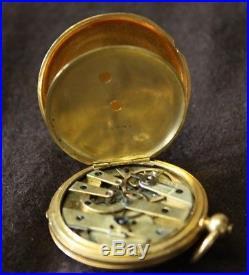 Patek Philippe Lady pocket watch Gold 18K Full Hunter case
